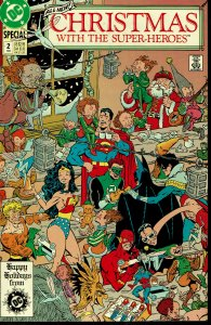 Christmas With The Super-Heroes #2 - NM - Wonder Woman, Flash, Green Lantern
