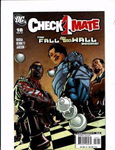 Lot Of 7 Checkmate DC Comic Books # 18 19 20 21 22 23 24 Batman Superman J212