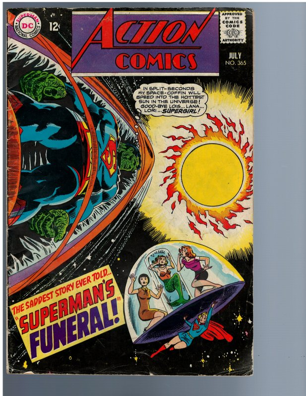 Action Comics #365 (1968)