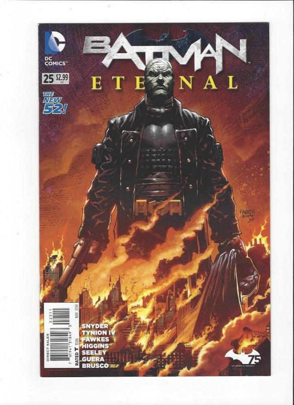 Batman Eternal  #25 DC Comics Jistice League New 52 Mint