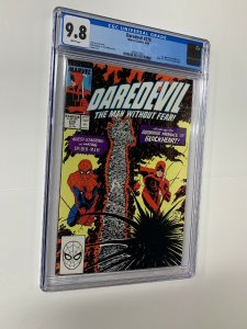 Daredevil 270 Cgc 9.8 White Pages 1st First Appearance Of Blackheart Marvel