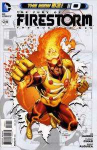 Fury of the Firestorm: The Nuclear Men #0 VF/NM; DC | save on shipping - details