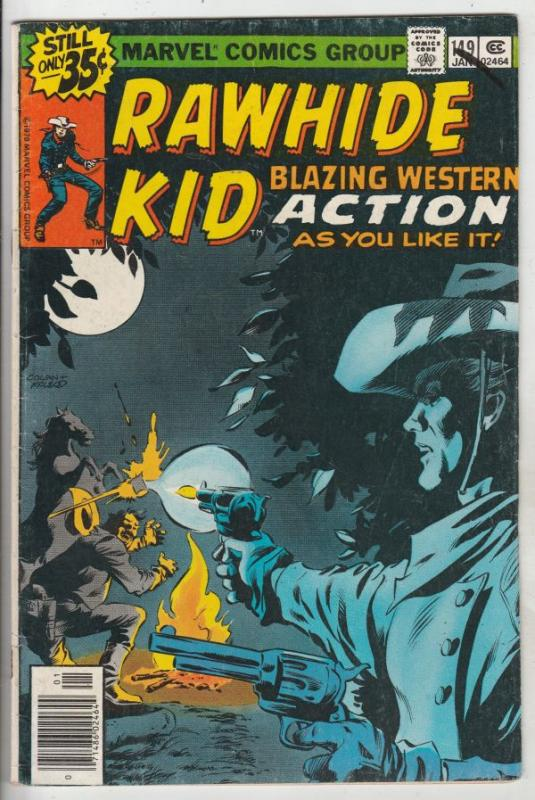 Rawhide Kid #149 (Jan-70) FN Mid-Grade Rawhide Kid
