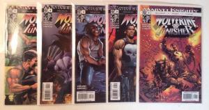 Wolverine Punisher 1-5 Complete Near Mint Lot Set Run Milligan Weeks