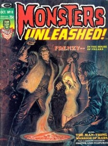 Monsters Unleashed #8 (ungraded) stock photo / ID#001D