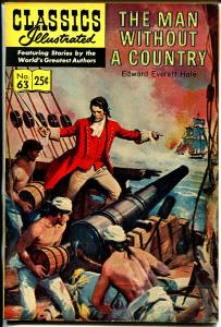 Classics Illustrated #63 1969-Gilberton-Man Without A Country-HRN 169-VF-