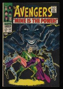 Avengers #49 VF- 7.5 Marvel Comics Thor Captain America