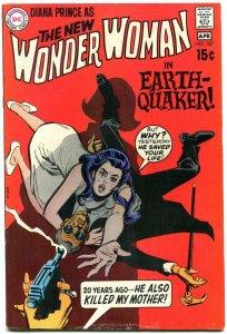 WONDER WOMAN #187 1970-no costume-DC SILVER AGE-vg VG
