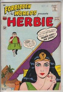 Forbidden Worlds #116 (Nov-63) VF+ High-Grade Herbie Popnecker