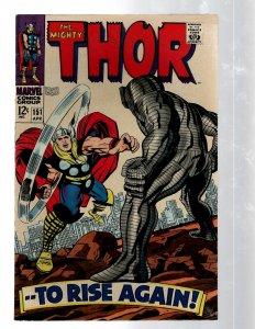 Mighty Thor # 151 VF/NM Marvel Comic Book Loki Odin Asgard Sif Avengers Hulk RB8