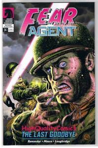 FEAR AGENT #3, NM, Last Goodbye, Tony Moore, 2007, more in store