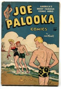 JOE PALOOKA #2-SPICY LIFEGUARD COVER G