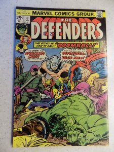 DEFENDERS # 19 MARVEL BRONZE HULK POWERMAN DR STRANGE