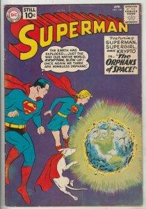 Superman # 144 Strict VG/FN+ Mid-Grade Supergirl, Superboy, Krypto listed now