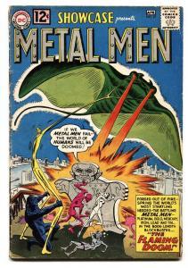 Showcase #37 Key book-1962 1st appearance of Metal Men Dc Silver Age Comic VG