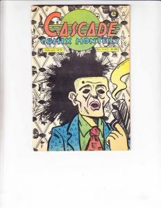 Cascade Comix Monthly #11/12 VG art spiegelman - jay kinney - dan o'neill 1979