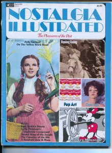 Nostalgia Illustrated 3/1975-Marvel-Judy Garland-Wizard of Oz-Mickey Mouse-Ho...