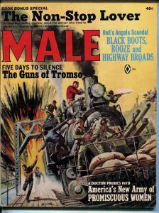 Male 10/1965-Atlas-pulp-Hanna Moore cheesecake-Minney- Kunstler-Copeland-FN