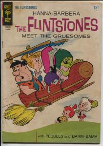Flinstones #24 1965-Hanna-Babrbera TV cartoon series-Pebbles-Bamm-Bamm-VG