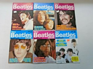 Beatles Book Monthly Magazine Lot 12 Different (1987-1988)