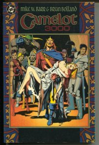 Camelot 3000-Mike W. Barr-1988-2nd Printing-PB-VG\FN