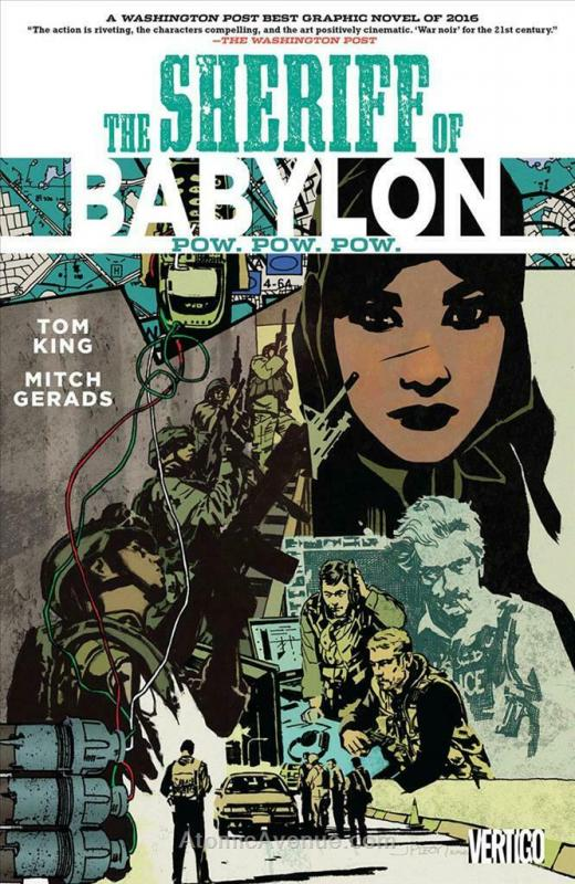 Sheriff Of Babylon, The TPB #2 VF/NM; DC | save on shipping - details inside