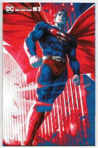Superman Red and Blue #3 Derrick Chew Variant (DC, 2021) NM