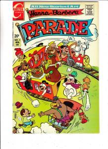 Hanna-Barbera Parade #2 (Nov-71) VF+ High-Grade Hanna-Barbera Studio Charecte...