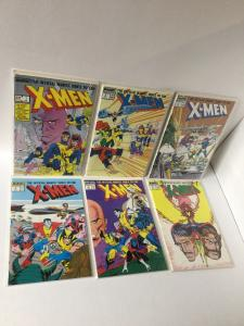 X-men Official Marvel Index 1 2 3 4 5 6 1-6 Nm Near Mint A25