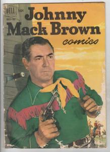 Johnny Mack Brown #9 (Mar-52) VG Affordable-Grade Johnny Mack Brown