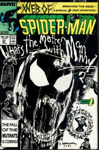 Web Spider-Man #33 - VF/NM - Sienkiewicz Cover