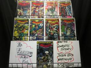 MEGALITH (1989 CO) 1-9  NEAL ADAMS  COMPLETE 1ST SERIES