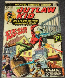 Outlaw Kid #24 -1974