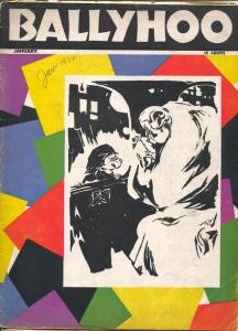 Ballyhoo $6 9/19332-Dell-inspiration for MAD magazine-parody-cartoons-gags-P