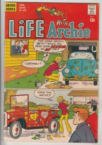 Life with Archie #92 (Dec-69) VF/NM+ High-Grade Archie, Jughead, Betty, Veron...