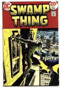 SWAMP THING #7-DC-BATMAN-1973--BERNI WRIGHTSON