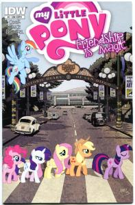 MY LITTLE PONY #9, NM, Con edition, SDCC, Beatles Abbey Road Variant, 2013