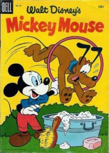 Mickey Mouse (1941 series) #43, Good- (Stock photo)