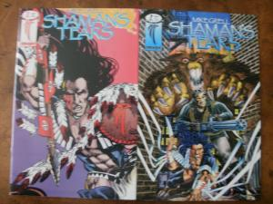 IMAGE Comic Book (1993 1995) SHAMAN'S TEARS #2 & #7