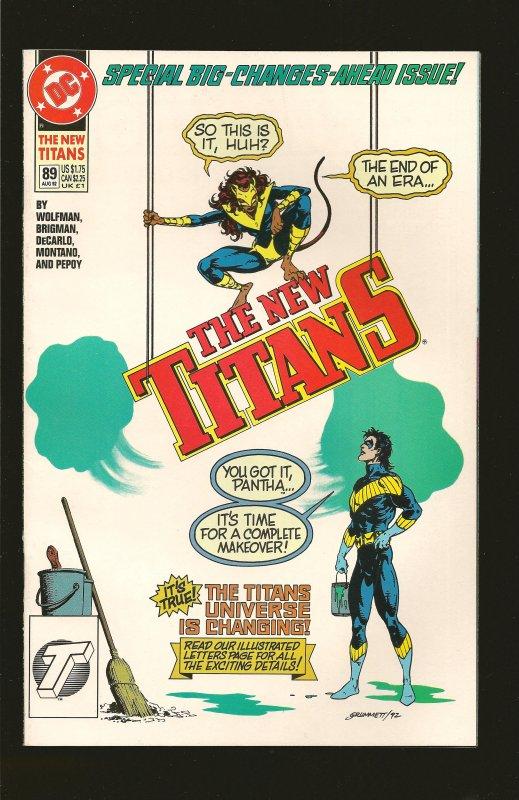 DC Comics The New Titans #89 (1992)