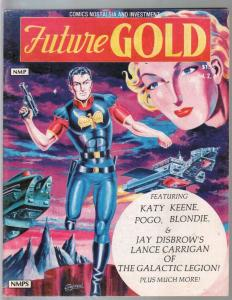Future Gold Vol. 2 #1 1981-Walt Kelly-Dr Wertham-Katy Keene-Superman-FN