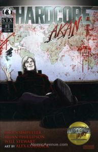 Hardcore Akan #1 VF/NM; Bliss on Tap | save on shipping - details inside