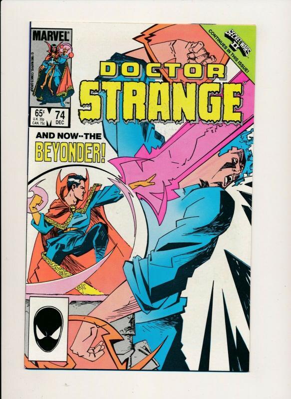 LOT of 3 Comics! Marvel DOCTOR STRANGE #74,75,76 F/VF (PF802)