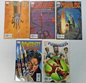 Powerless, Run:#2-6, 8.0 VF (2004)