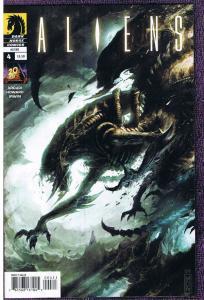 ALIENS #4, NM, John Arcudi, Horror, Sci-Fi, 2009, Sci-Fi, more in store