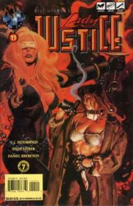 Lady Justice (Neil Gaiman's…, Vol. 1) #11 VF/NM; Tekno   save on shipping - deta