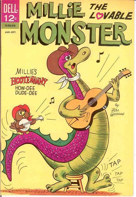 MILLIE THE LOVABLE MONSTER 3 (12-253-410) F-VF COMICS BOOK