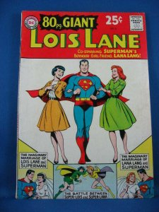 80 PAGE GIANT 3 Lois Lane Fine 1964