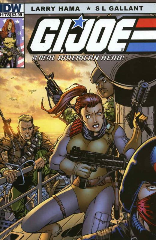 G.I. Joe, A Real American Hero #178B VF/NM; Marvel | save on shipping - details