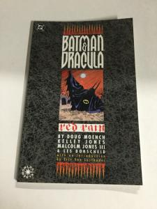 Batman And Dracula Red Rain Nm Near Mint DC Comics SC TPB
